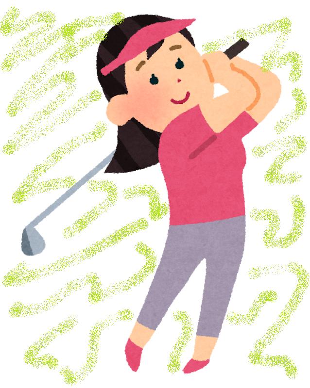 ゴルフで痛めやすい部位